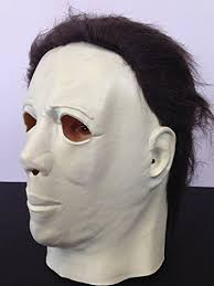 amazon com kids michael myers halloween horror mask latex full