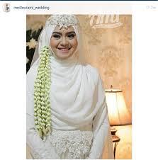 tutorial hijab syar i untuk pengantin 9 model hijab menutup dada pilihan untuk pesta pernikahanmu models