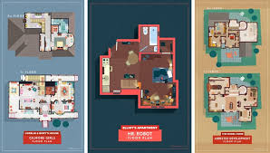 Tv Floor Plans From Buffy To Breaking Bad Sherlock To Stranger Things Here Are