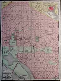 Map Of Washington D by Map Of Washington Dc 1900