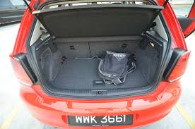 nissan almera boot space the volkswagen polo sport are you polo enough kensomuse