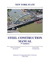 complete nys steel construction manual welding structural steel