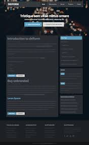 free website templates dreamweaver two column free css web templates zypop deiform view download hallux free responsive css and html5 web template