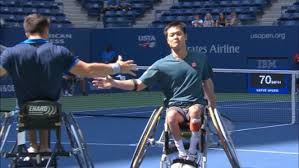 us open table tennis 2018 wheelchair tennis debuts in ashe for first time news official