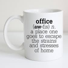 funny office definition coffee mug humorous co worker gift
