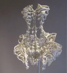 eye on design 3d printed bone dress by iris van herpen the