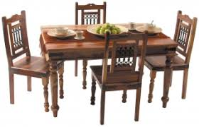 Jali Dining Table And Chairs Buy Jaipur Furniture Jali Dining Set With 4 Chairs
