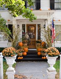 thanksgiving outdoor decorations 11 elegant ways to decorate with pumpkins this fall decorating