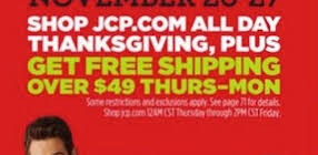 Jcpenney Thanksgiving Jcpenney Mobile App Users Will Receive A Sneak Peak Of Their 2016