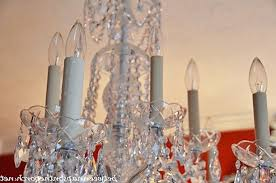 Candle Sleeves For Chandeliers Transform An Ordinary Chandelier With Resin Candle Covers And Silk