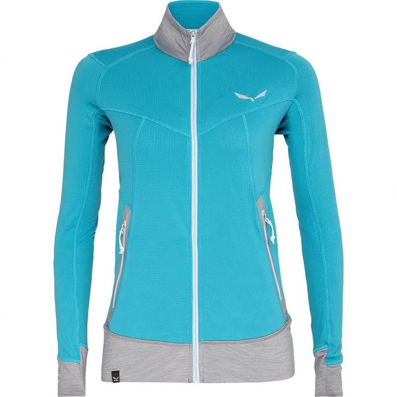 Salewa Pedroc Polartec Full Zip Fleece Jacket Ocean Medium 00-0000027121-8201-M