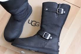 s ugg australia kensington boots ugg australia kensington black leather sheepskin 5678 boots size 7