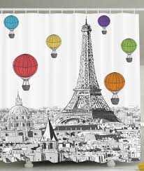 Paris Fabric Shower Curtain by 17 Shower Curtains Gifts For Home Decor Lovers You Should Check