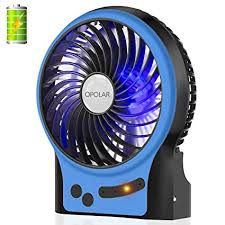battery operated fan with timer amazon com opolar battery operated fan 3 13 working hours