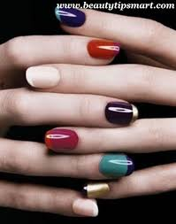 bright nail polish colors in style for summer winter 2017