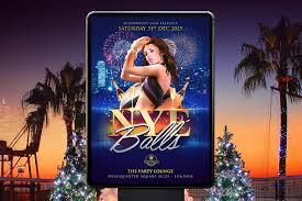 free download nye balls flyer poster template u2013 denny busyet