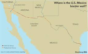 Mexico Wall Map A Giant Border Wall Between The Us And Mexico Here Are Five Rio
