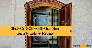 stack on security cabinet stack on gcb 908 8 gun steel security cabinet an expert analysis
