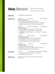 microsoft word resume templates free resume exles templates best 10 resume remplate free