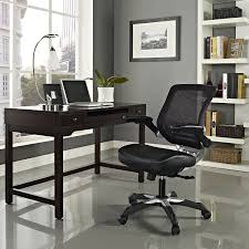amazon com modway edge mesh back and black vinyl seat office