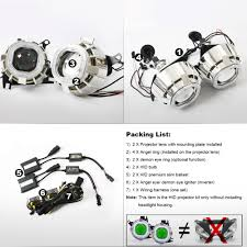 aliexpress com buy kt motorcycle projector lenses suitable for