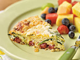 Spinach Quiche With Cottage Cheese by Crustless Smoked Turkey And Spinach Quiche Recipe Myrecipes