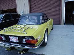 Tr6 Interior Installation The Roadspeed Garage For Vintage Sportscars 1975 Triumph Tr6