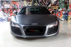 nardo grey r8 car wrap dubai audi r8 charcoal metallic youtube