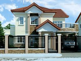 Modern Two Story House Plans Modern House Design 2012005 Pinoy Eplans