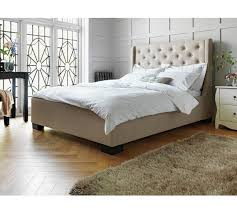 buy heart of house levena kingsize quilted bed frame natural at
