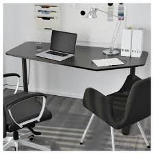 Wohnzimmer Osnabr K Bekant Schreibtisch 5 Eckig Weiß Ikea
