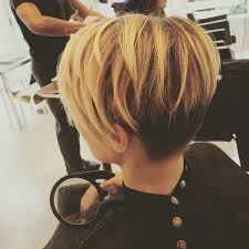 front and back views of chopped hair 23 chic pixie cut ideas popular short hairstyles for women