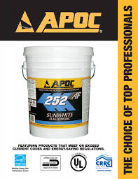 Apoc Elastomeric Roof Coating by Apoc Fluid Applied