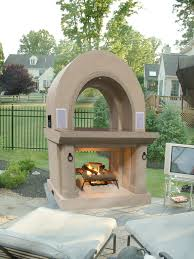 Kitchen With Fireplace Designs by Fireplaces Warm Up Patios Outdoor Rooms Hgtv