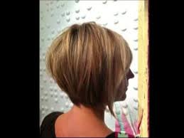 bob haircut with low stacked back shoulder length 17 medium length bob haircuts short hair for women and girls youtube