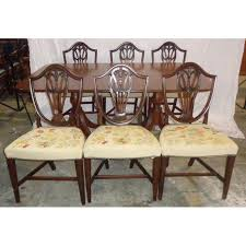 Duncan Phyfe Dining Room Set Mahogany Duncan Phyfe Style Dining Set With 6 Chairs Chairish