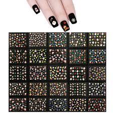 kung fu santa christmas nail art nail stickers 50 sheets u2013 allydrew