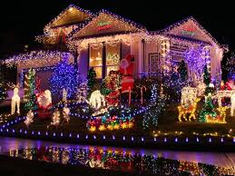 christmas christmas lights multicolor led pathway
