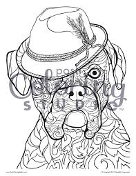 dog coloring pages from coloring books