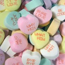 necco hearts necco which one of our new sweethearts phrases is your