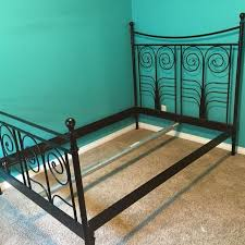 Metal Bed Frame Ikea Metal Bed Frame On Neat And Bed Frames Ikea Ikea Noresund Bed