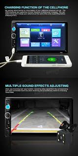 Add Usb Port To Car Stereo 7010b 7 Inch Car Stereo Radio Mp5 Mp3 Player Fm Usb Aux Full Hd