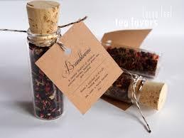 tea wedding favors wedding favors bar