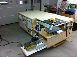 table saw router combo rolling workbench systainer port tablesaw and router
