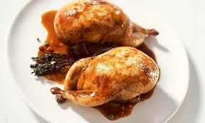 cuisiner des cailles en cocotte recette de cailles farcies au foie gras p m decayzac