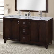 double sink bathroom vanity clearance rectangle frameless wall