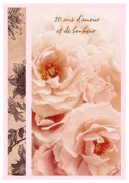 anniversaire mariage 10 ans carte anniversaire de mariage 10 ans amour à imprimer