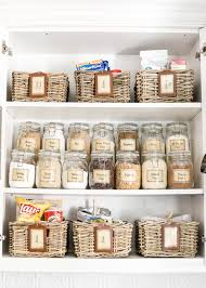 pantry cabinet organization and printable labels bless u0027er house