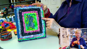 Rug Hooking With Yarn Learn How To Locker Hook So Easy For Beginners How To Get Creative