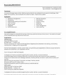 Operations Management Resume Best Shift Manager Resume Example Livecareer